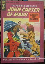 Edgar Rice Burrough's John Carter of Mars Gold Key #2 JULY VF-