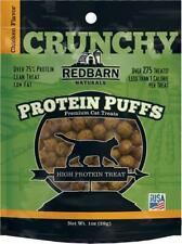Redbarn Protein Puffs Crunchy Chicken Flavor Treats for Cats 1 Ounce