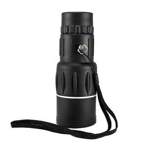 HD 16x52 Dual Focus Zoom Optic Lens Monocular Telescope For Hunting Camping Gift