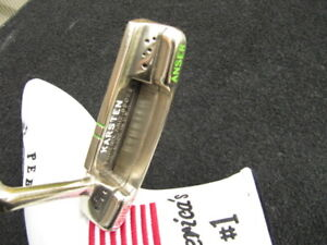 Right handed.Ping Anser slotline Karsten .85029 putter. brass custom.