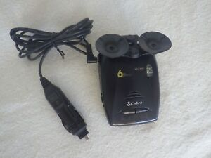 Cobra 6 Band Laser Radar Detector ESD-6060 Police Scanner
