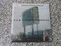 "R.E.M Strange Currencies 1995 UK 7"" SINGLE COLOURED VINYL SEALED WITH BADGE"