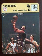 1977-1979 SPORTSCASTER WILT CHAMBERLAIN LA Lakers FINLAND FINNISH RARE