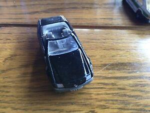 Mercedes Benz 500 SL Convertible Majorette Car Black No.260 1/58