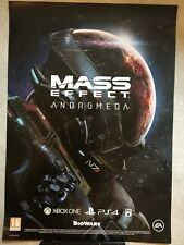 RARE - MASS EFFECT ANDROMEDA - OFFICIAL GAME PROMO POSTER