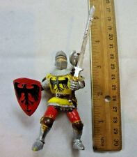 "Medieval Knight Sword & Shield Action Figure Children Kids Toy 5"" Inches Tall"