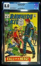 Rawhide Kid #80 CGC 8.0  Oct. 1970
