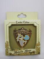 Medieval Magic Goofy Crest Shield Knight LE 500 Box Disney Pin 134838