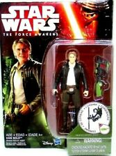 STAR WARS, HAN SOLO, THE FORCE AWAKENS WITH ACCESSORIES, HASBRO