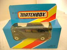 1981 MATCHBOX LESNEY SUPERFAST MB44 DARK BLUE CITROEN 15 MIB