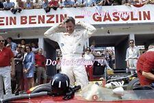 Graham Hill Gold Leaf Team Lotus 49B German Grand Prix 1969 Photograph
