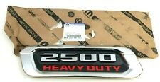 2020 RAM 2500 Heavy Duty driver hood chrome red black Nameplate Emblem new OEM