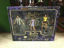 Buffy The Vampire Slayer Three Action Figure Exclusive Cheerleader Box Set MIB