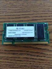 256MB DDR MEMORY RAM PC2700 SODIMM 200-PIN 333MHZ 2.5V