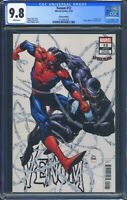 Venom 12 (Marvel) CGC 9.8 White Pages Variant Cover by Ryan Stegman