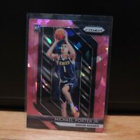2018-19 Michael Porter Jr Rookie Card Panini Prizm Pink Cracked Ice Holo Nuggets