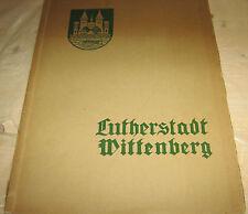 Luther ville wittenberg 48 art estampes-éd. G. Berthold/introduction H. wendorf
