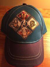 Marvel Avengers Infant Baseball Hat (Blue)