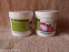 4x Kräuterhof Körperpeeling Peeling Wildrosenöl Asam Iris Cosmetic