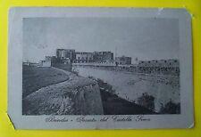 BRINDISI: fossato del Castello Svevo