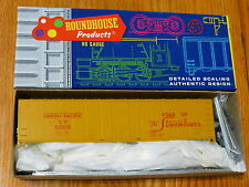 Roundhouse Ho #1255 (Rd #500038) Union Pacific 50' Box Car kit
