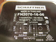 FN2070-16-06 QTY 1 SCHAFFNER FILTER MULTI-STAGE PERFORM 16A FN20701606