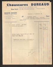 """TOULOUSE (31) USINE de CHAUSSURES de LUXE """"DUREAUD"""" en 1948"""