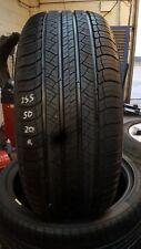 2 x tyres s1 MICHELIN LATITUDE TOUR HP 255/55-19 2555519109W  xl 8mm TREAD