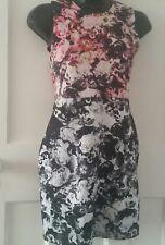 Topshop Floral Dress Size 8 Wiggle/Pencil