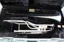 Kanstul 1180 G Bass Herald Trumpet w/ flight case