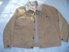 MINT Mens Levis Corduroy Sherpa Trucker Style #70520 Coat Jacket Sz XXL