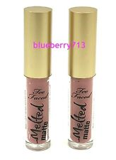 Lot de 2: Too Faced ~ Fondu Mate ~ Wear Rouge à Lèvres ~ Reine B 2,3 Ml 2 =