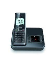 Telekom Sinus A 206 graphit schnurlos Telefon mit Anrufbeantworter