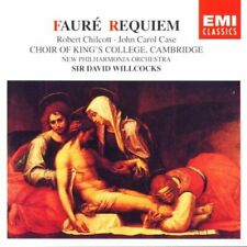 Fauré: Requiem / Pavane By John Carol Case,Gabriel Fauré,David Willcocks,New .
