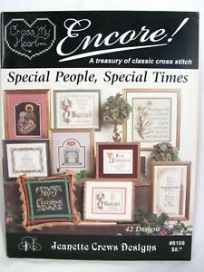 Special People Special Times 42 Cross Stitch Patterns Booklet Family Occasions