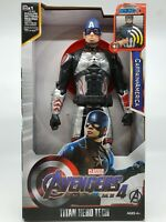 Captain America Avengers: End Game Titan Hero Power figure toy AU 30cm tall Soun