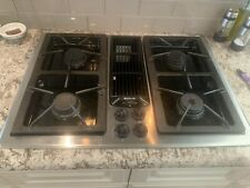 New listing Used Jenn Air 30 Inch Downdraft Gas Cooktop Stainless Steel Model Jgd8130