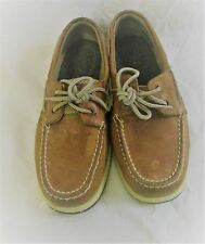 Women's Sperry  LEATHER BOAT SHOES size 7.5M