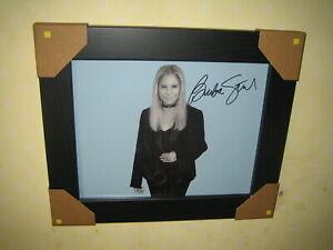 Barbra Streisand Signed Photograph (8x10) Framed With CoA