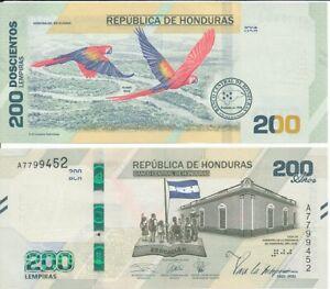 Honduras - 200 Lempiras 2021 UNC 200 years independence comm. Lemberg-Zp