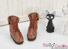 ☆╮Cool Cat╭☆【06-04】Blythe Pullip Doll Short Shoes.Brown