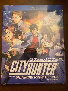 City Hunter Shinjuku Private Eyes Blu Ray Discotek Official Release Anime