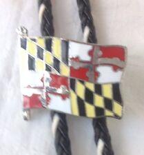 Western Bolo Tie Maryland Bandera De colección Clásico Americano Bota De Encaje