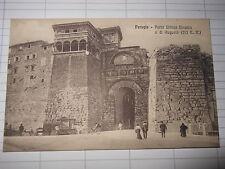 Cartolina Perugia Porta Urbica Etrusca figurata (1914)  (CB135) ^