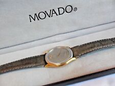 Two Tone Men's Movado Museum Series Swiss Quartz Watch 88-64-860 w/ Box