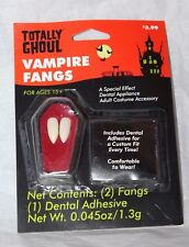 Totally Ghoul Vampire Fangs Halloween Costume Accessory