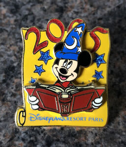 Disney - DLRP Sorcerer Mickey And His Book Of Spells Pin - 2005