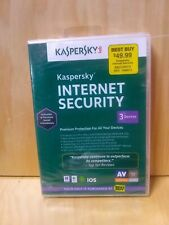 Kaspersky Internet Security 2014 For 3 Devices Software Computers NEW