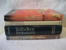 Poul Anderson vintage scifi book lot FIRE TIME Stormgate Mirkheim 1970s fiction
