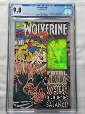 Wolverine #75 CGC 9.8 (1993) BONE CLAWS - Wraparound Holo Cover [MARVEL Comics]